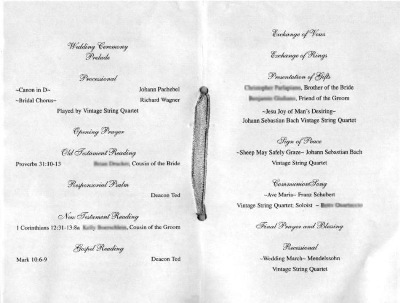 Filipino Wedding Ceremony Program On Programs